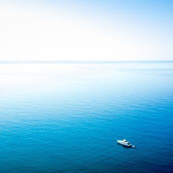 Kalme zee.