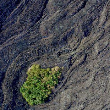 Gestolde lavastroom op de Etna