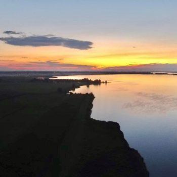 Zonsondergang Eemdijk