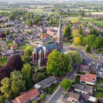 De kerk in Zieuwent